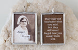 Nurse Angel Soldered Art Charm