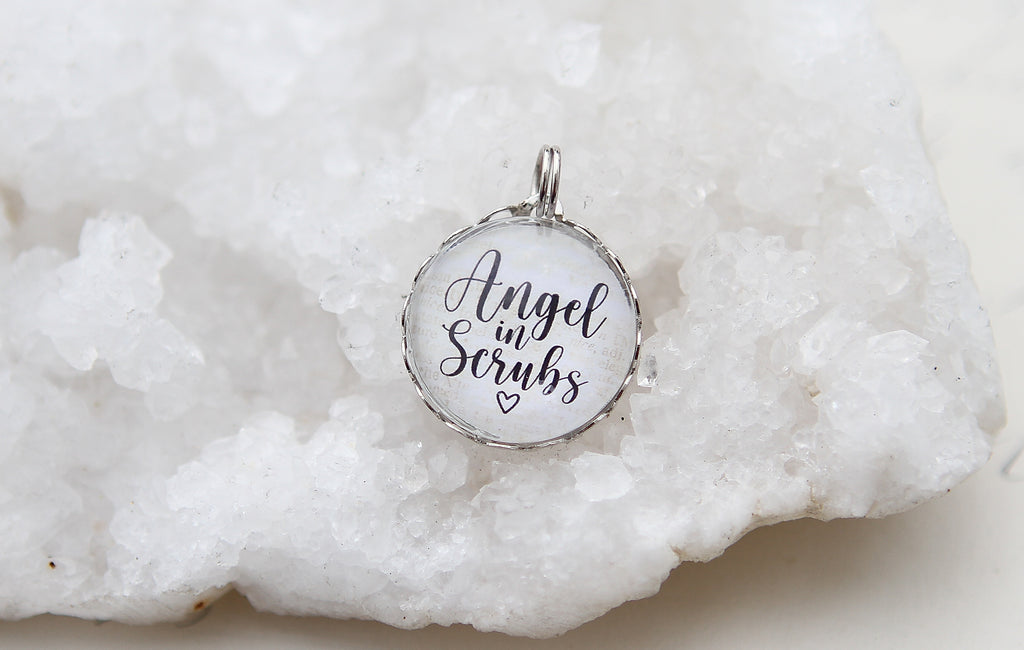 Angel in Scrubs Bubble Charm
