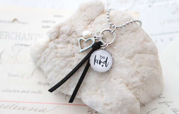 Be Kind Suede Necklace