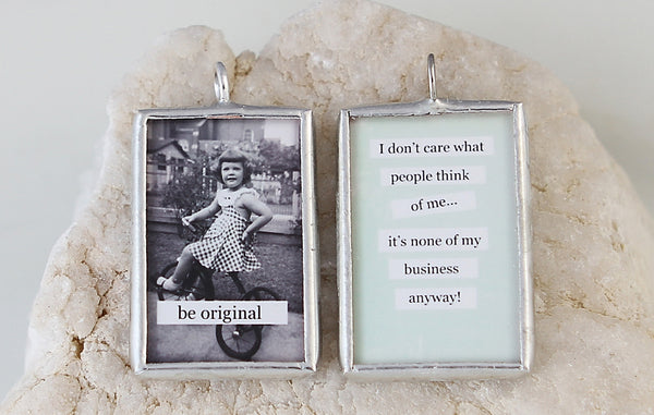 Be Original Soldered Art Charm