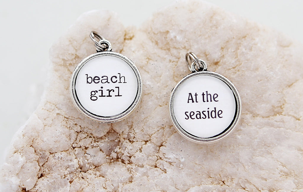 At The Seaside Double Bubble Charm