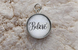 Believe Bubble Charm Jewelry