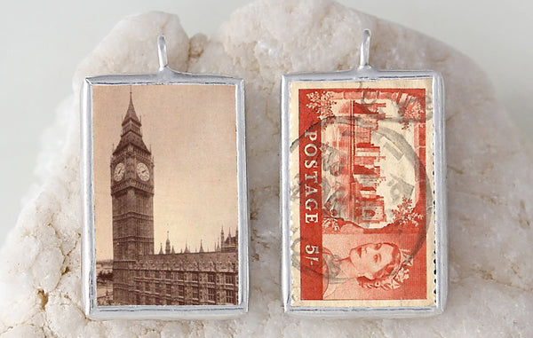 Big Ben Soldered Art Charm