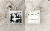 Book Club Necklace