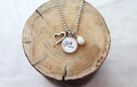 Boy Mom Necklace