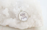 Brave Fight Bubble Charm - Jennifer Dahl Designs