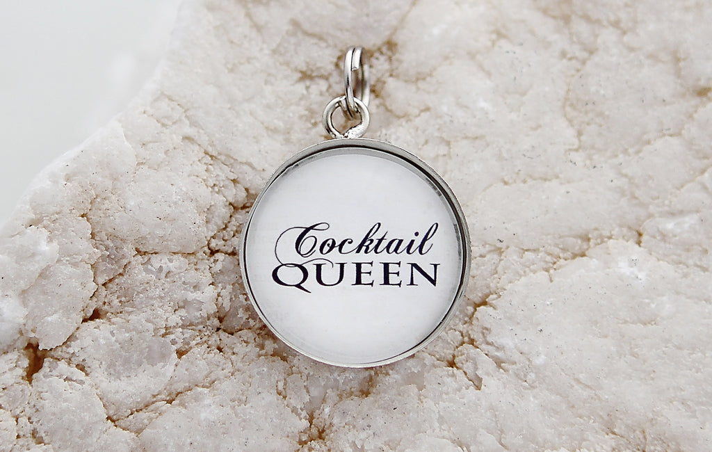 Cocktail Queen Bubble Charm