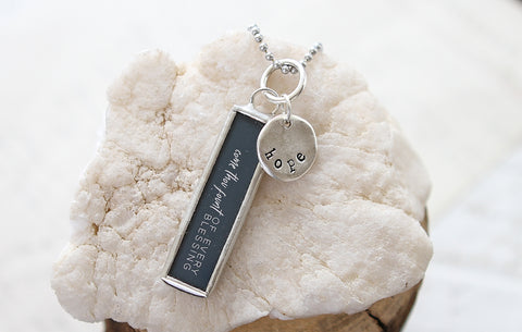 Come Thou Fount Of Every Blessing Necklace