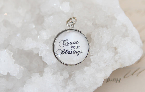 Count Your Blessings Bubble Charm - Jennifer Dahl Designs