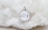 Custom Initials Bubble Charm