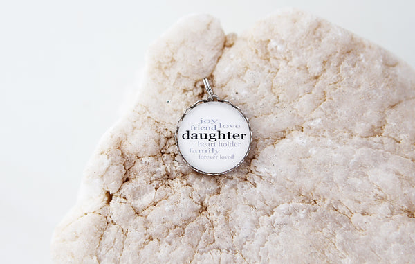 Daughter Bubble Charm