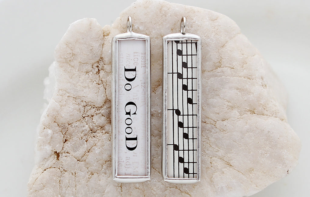 Do Good Soldered Art Charm