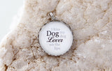 Dog Lover Bubble Charm