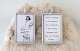 Domestic Diva Soldered Art Charm