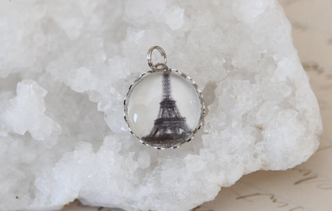 Eiffel Tower Bubble Charm