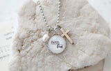 Faith Over Fear Necklace