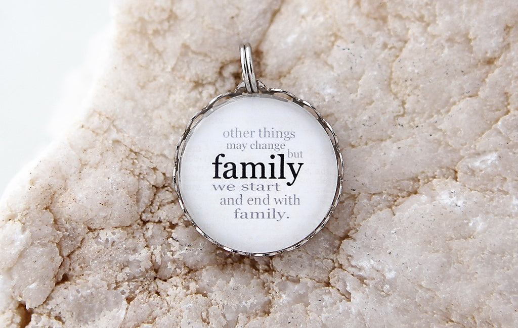 Family Bubble Charm