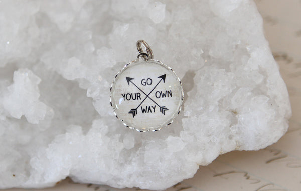 Go Your Own Way Bubble Charm - Jennifer Dahl Designs