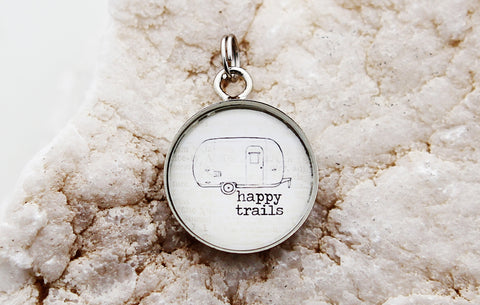 Happy Trails Bubble Charm
