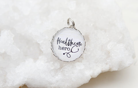 Healthcare Hero Bubble Charm