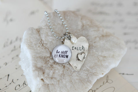 Be Still & Know Necklace