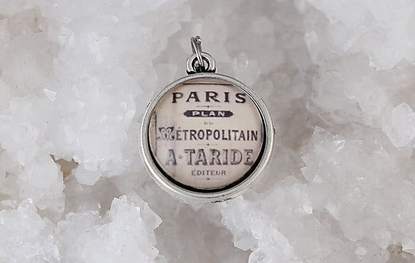It Really Didn't Matter Where-Vintage Paris Double Bubble Charm