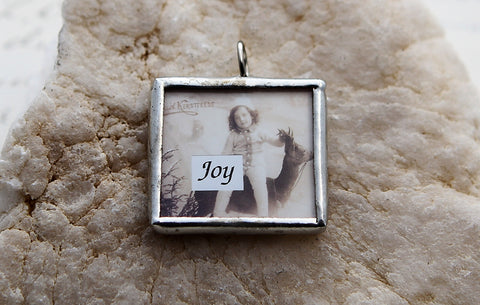 Heaven and Nature Sing Soldered Art Charm Jewelry