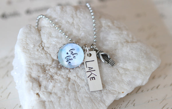 Lake Life Necklace