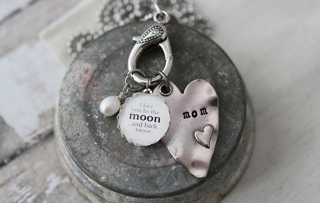 Love you to the moon Necklace