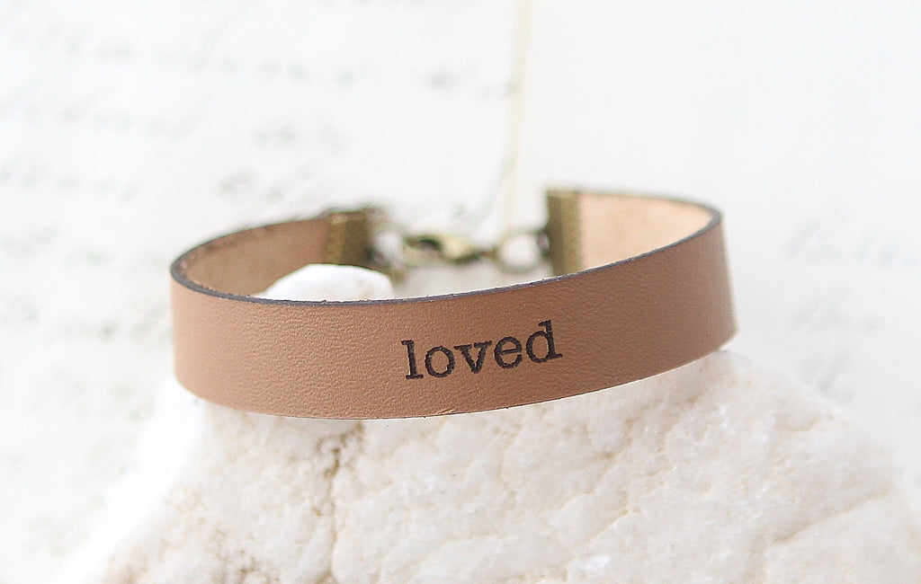 Loved Leather Bracelet