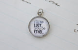 Lucy and Ethel Bubble Charm - Jennifer Dahl Designs