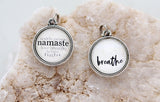 Namaste Double Bubble Charm