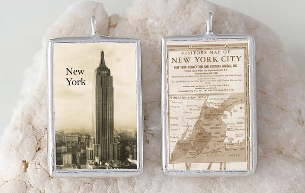 New York Soldered Art Charm