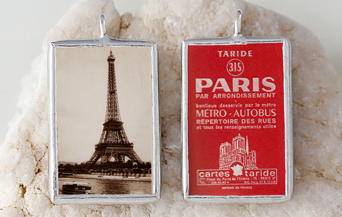 Paris Soldered Art Charm
