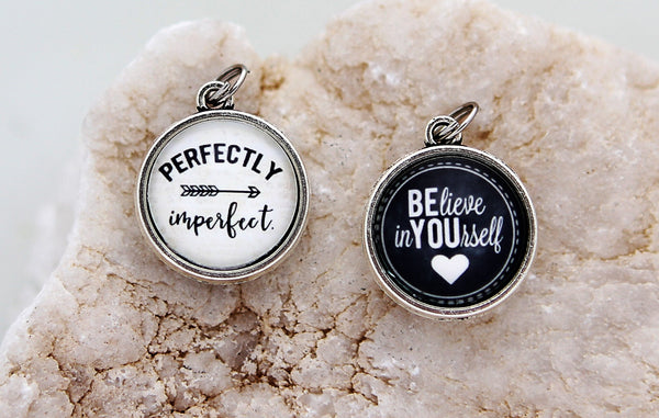 Perfectly Imperfect Double Bubble Charm