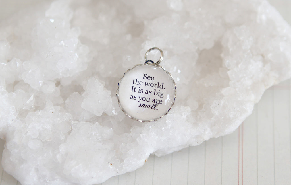 See The World Bubble Charm - Jennifer Dahl Designs