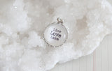 Live Love Lake Bubble Charm - Jennifer Dahl Designs