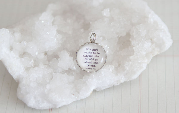 Be A Legend Bubble Charm - Jennifer Dahl Designs