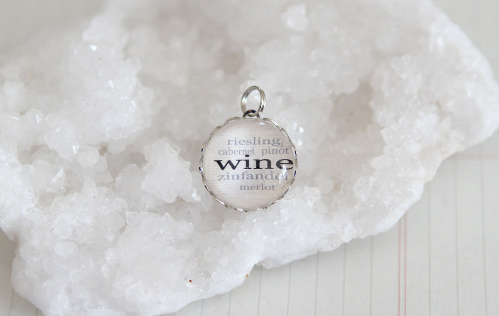 Wine Bubble Charm - Jennifer Dahl Designs