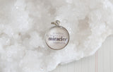Miracles Bubble Charm - Jennifer Dahl Designs