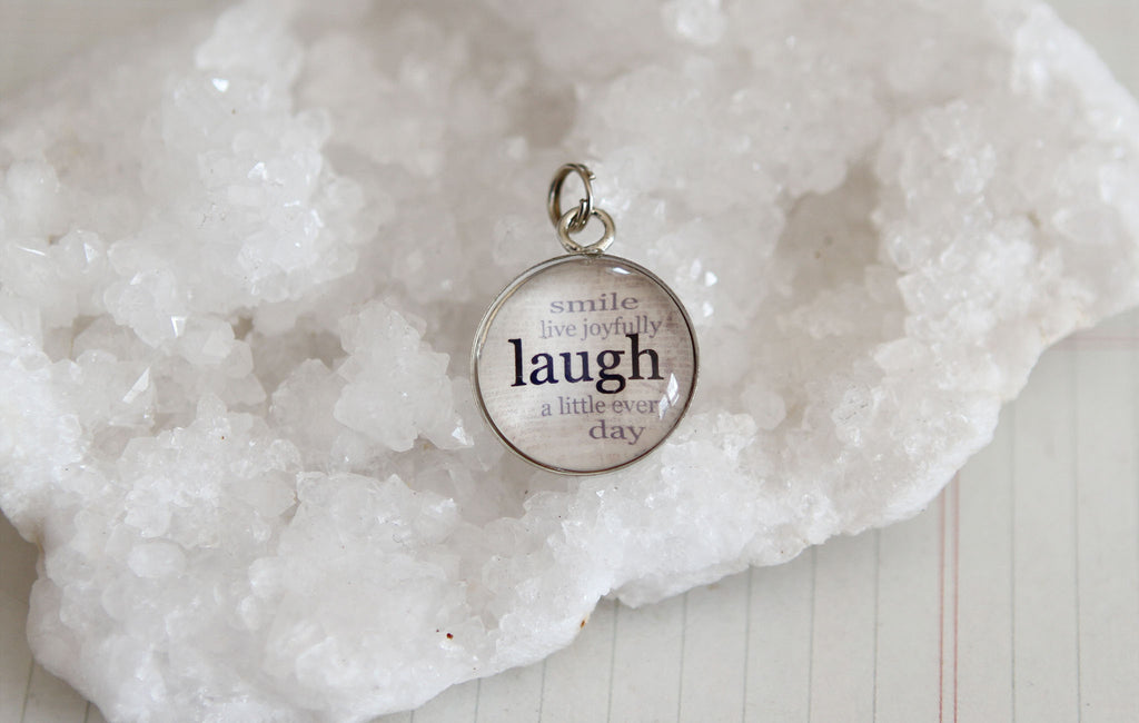 Laugh Bubble Charm - Jennifer Dahl Designs