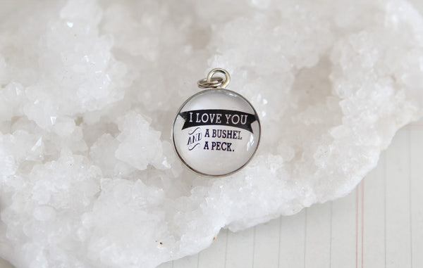Bushel And A Peck Bubble Charm - Jennifer Dahl Designs