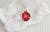 Red Joy Bubble Charm - Jennifer Dahl Designs