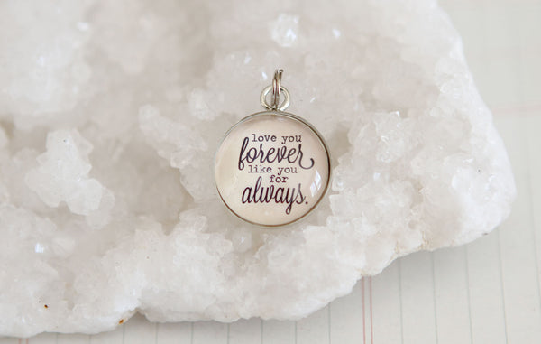 Love You Forever Bubble Charm - Jennifer Dahl Designs
