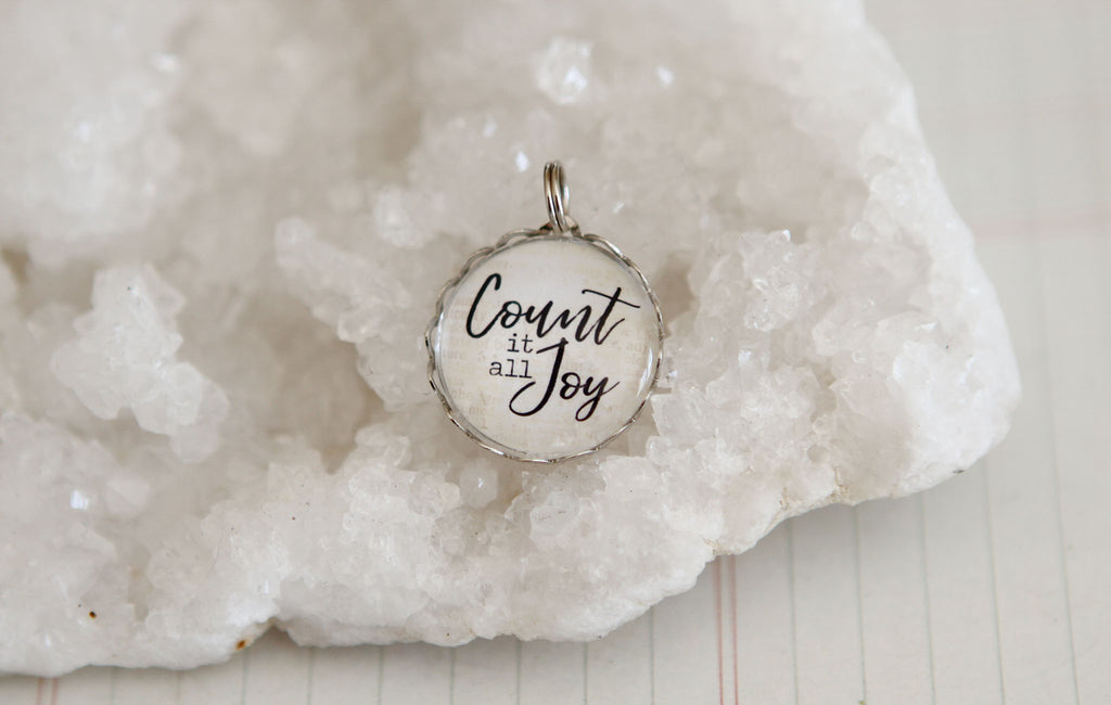 Count It All Joy Bubble Charm