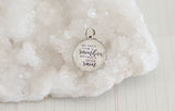 Can't Have Rainbow Without Rain Bubble Charm - Jennifer Dahl Designs