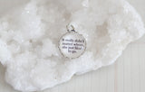 It Really Didn't Matter Where Bubble Charm - Jennifer Dahl Designs