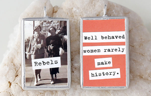 Rebels Soldered Art Charm