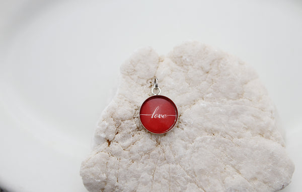 Red Love Bubble Charm