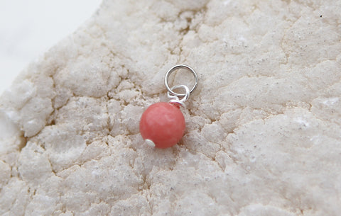 Rose Jade Faceted Gem